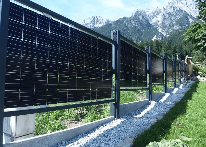 Solar-Zaun